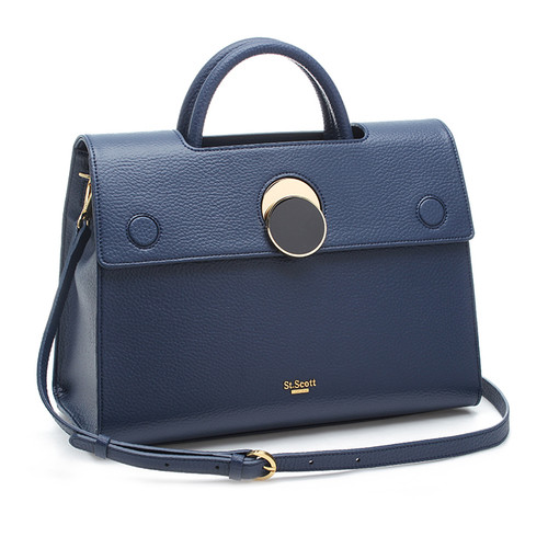 [SAINT SCOTT]Maybelle Tote - Navy Blue