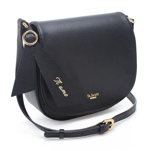 [SAINT SCOTT]Glinda Crossbody bag - Black