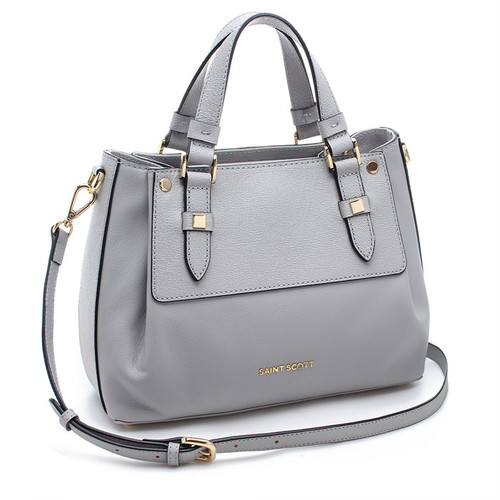 [SAINT SCOTT]Katrina Tote Bag -  Light Grey