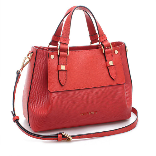 [SAINT SCOTT]Katrina Tote Bag -  Coral Red