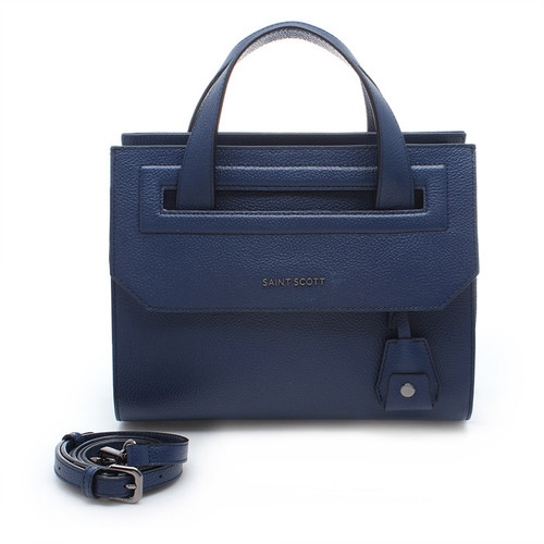 [SAINT SCOTT]Raina Tote Bag - Navy