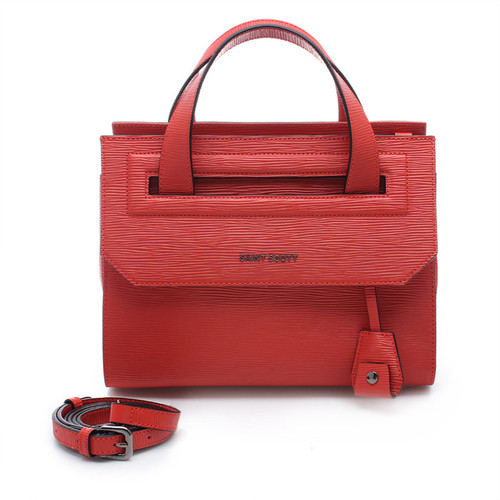 [SAINT SCOTT]Raina Tote Bag - Coral Red