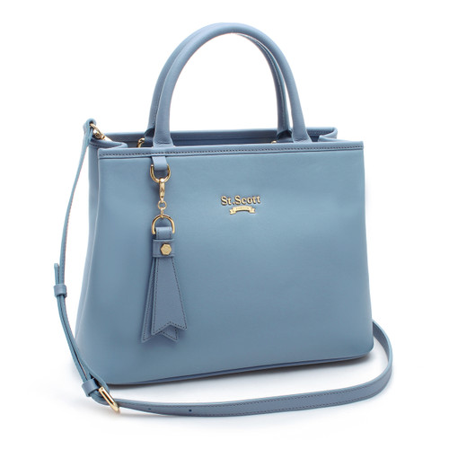 [SAINT SCOTT]Mag Tote Bag - Niagara Blue