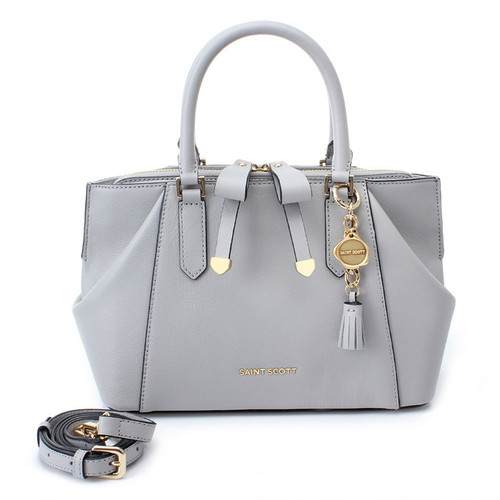 [SAINT SCOTT]Sarah Tote Bag - Light Grey
