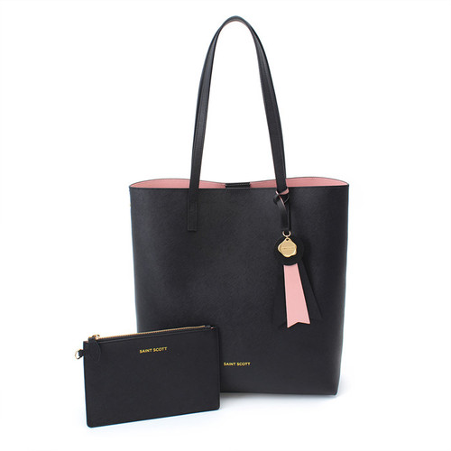 [SAINT SCOTT] Ivy shopper bag - Black