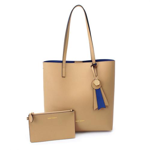 [SAINT SCOTT]Ivy shopper bag - Deep Beige