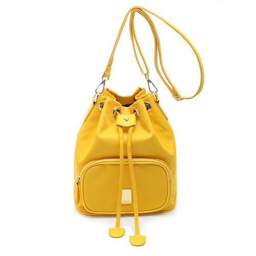 [SAINT SCOTT]NewYork Bucket bag - Yellow