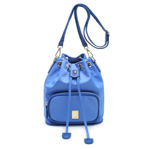 [SAINT SCOTT]NewYork Bucket bag - Blue