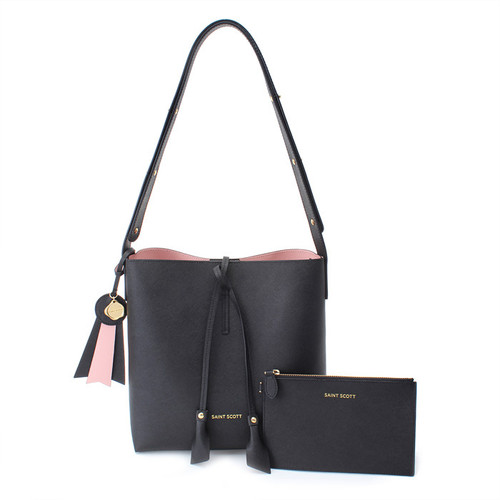 [SAINT SCOTT] Hannah Shoulder Bag - Black