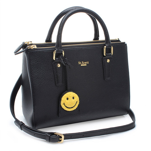 [SAINT SCOTT]MINI Blair Tote - Black