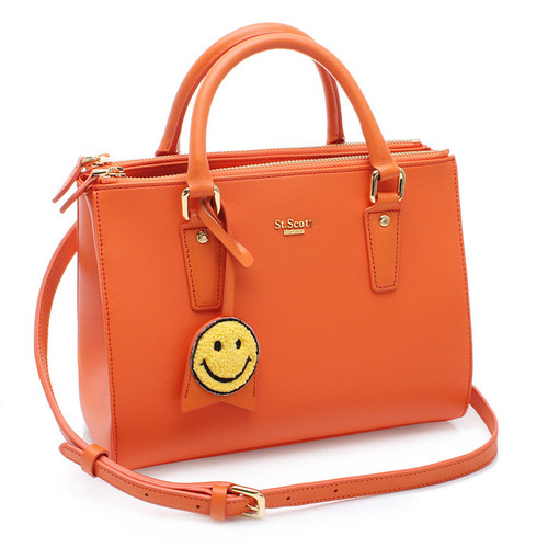 [SAINT SCOTT]MINI Blair Tote - Flame Orange