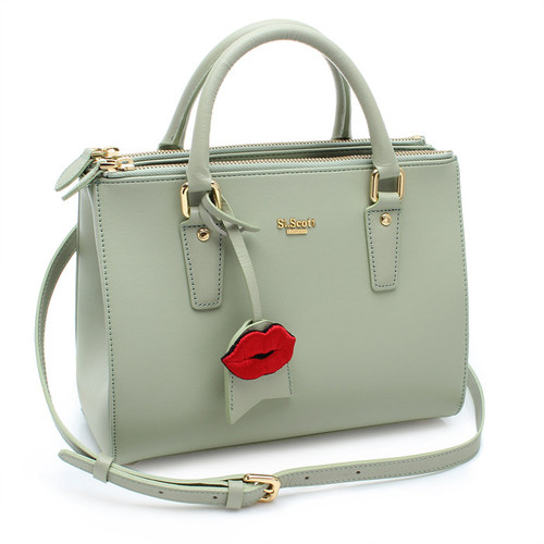 [SAINT SCOTT]MINI Blair Tote - Greenery