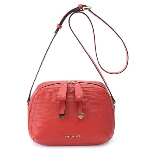 [SAINT SCOTT]Sarah Crossbody Bag - Coral Red