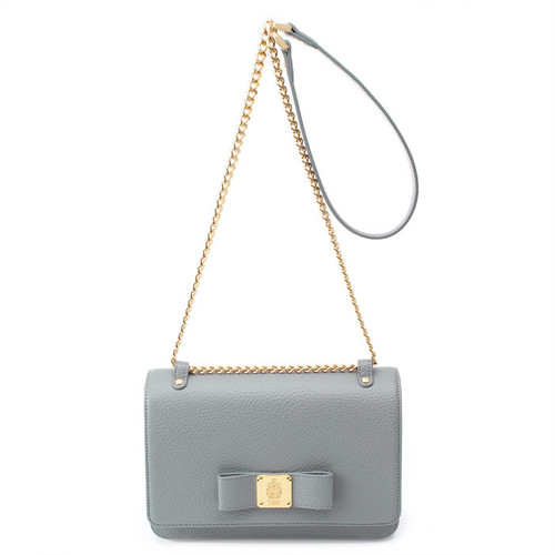 [SAINT SCOTT] Alice Mini Crossbody Bag - Cream Grey