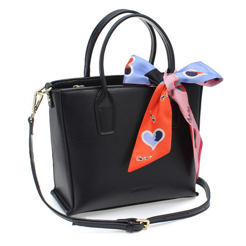 [SAINT SCOTT]PHOEBE TOTEBAG  - Black