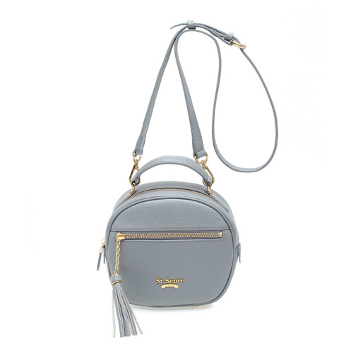 [SAINT SCOTT] Dorothy Shoulder Bag - Cream Grey
