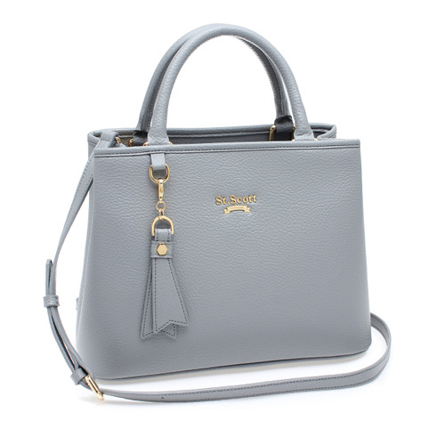 [SAINT SCOTT] Mag Tote Bag - Cream Grey