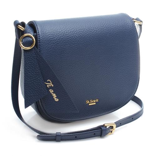 [SAINT SCOTT]Glinda Crossbody bag - Navy Blue