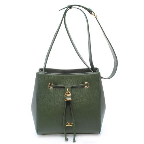 [SAINT SCOTT]Penny Bucket Bag - Golden Khaki