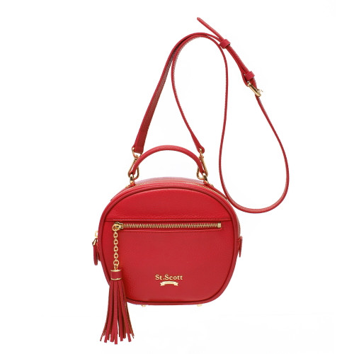 [SAINT SCOTT] Dorothy Shoulder Bag - Scarlet Red