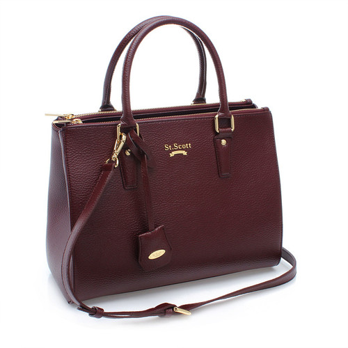 [SAINT SCOTT]Blair Tote - Port Wine