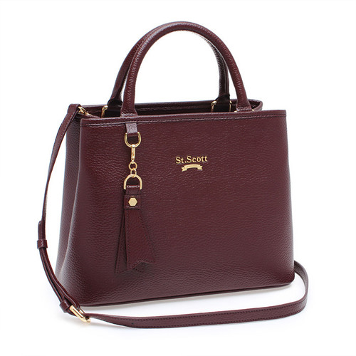 [SAINT SCOTT]Mag Tote Bag - Port Wine