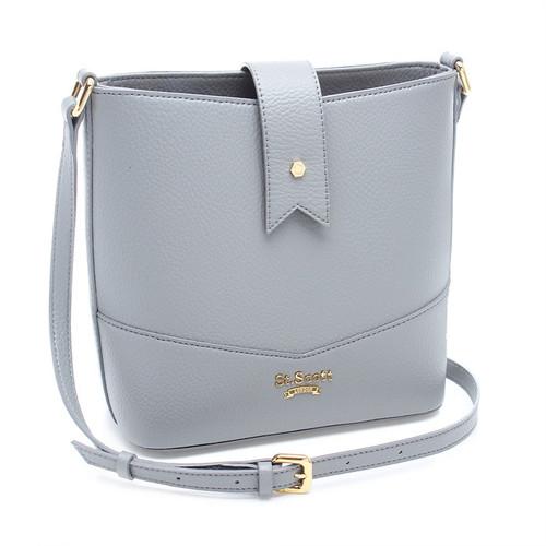 [SAINT SCOTT] Becky Bucket Bag - Cream Grey