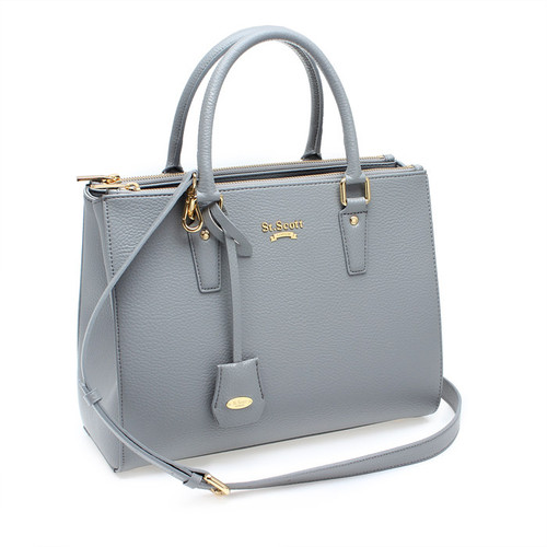[SAINT SCOTT]Blair Tote - Cream Grey