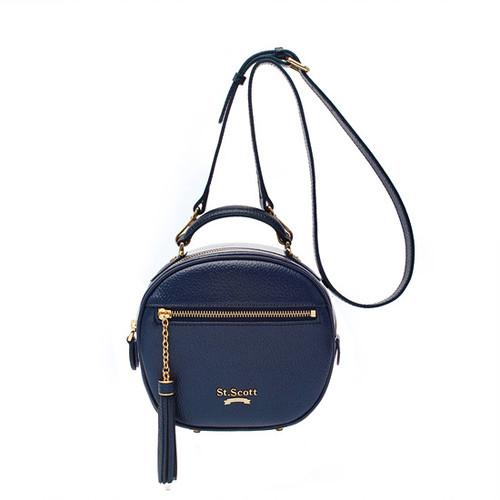 [SAINT SCOTT] Dorothy Shoulder Bag - Navy Blue