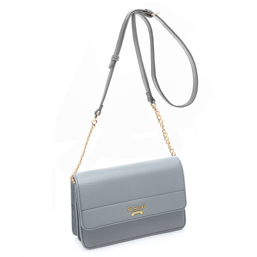 [SAINT SCOTT] Jasmine Shoulder Bag -  Cream Grey