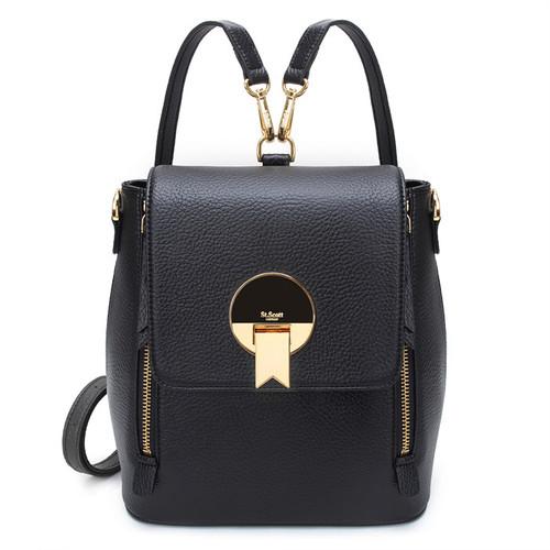 [SAINT SCOTT]EBONY Backpack - Black
