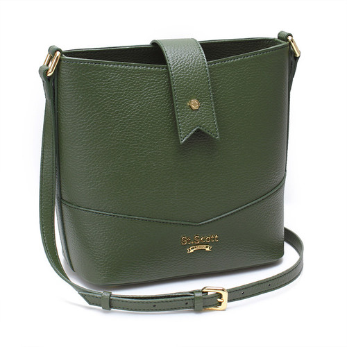 [SAINT SCOTT]Becky Bucket Bag - Golden Khaki