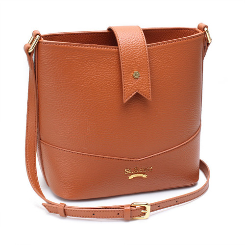 [SAINT SCOTT]Becky Bucket Bag - Maple Brown