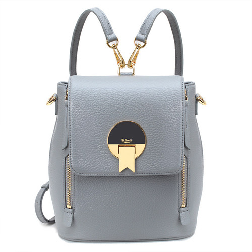 [SAINT SCOTT]EBONY Backpack - Cream Grey