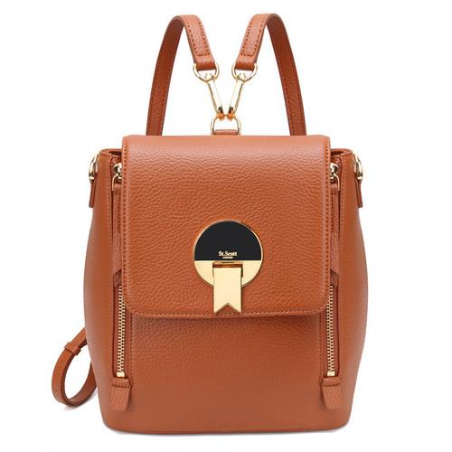 [SAINT SCOTT]EBONY Backpack - Maple Brown