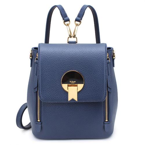 [SAINT SCOTT]EBONY Backpack - Navy Blue
