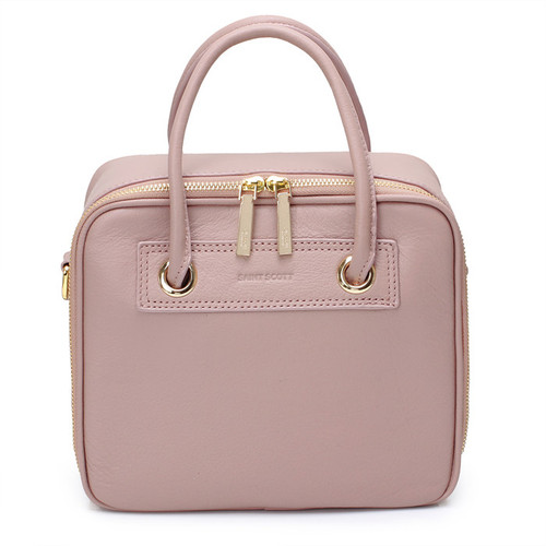 [SAINT SCOTT]RAVEN BOX TOTEBAG - Pink