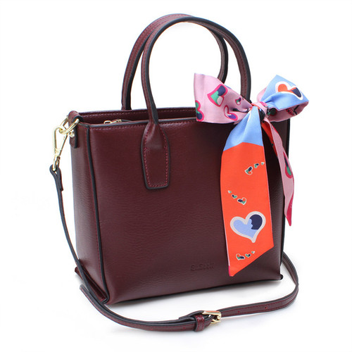 [SAINT SCOTT]PHOEBE TOTEBAG  - Burgundy