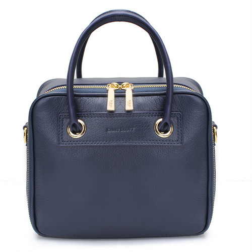 [SAINT SCOTT]RAVEN BOX TOTEBAG - Navy