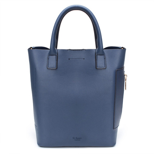 [SAINT SCOTT]MARCH TOTE BAG - Navy