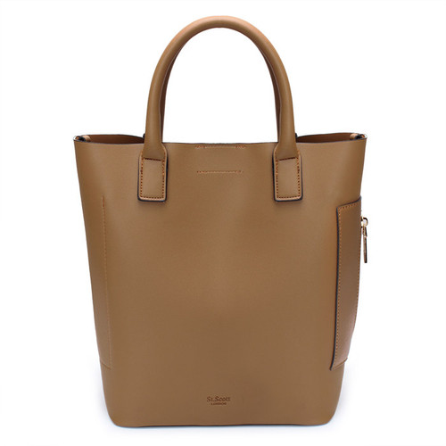 [SAINT SCOTT]MARCH TOTE BAG - Camel