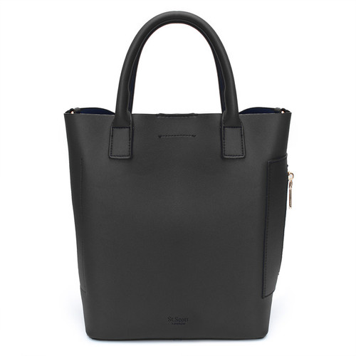 [SAINT SCOTT]MARCH TOTE BAG - Black
