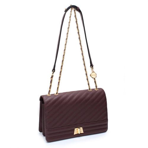 [SAINT SCOTT]Jaycee Shoulder Bag - Antique Burgundy