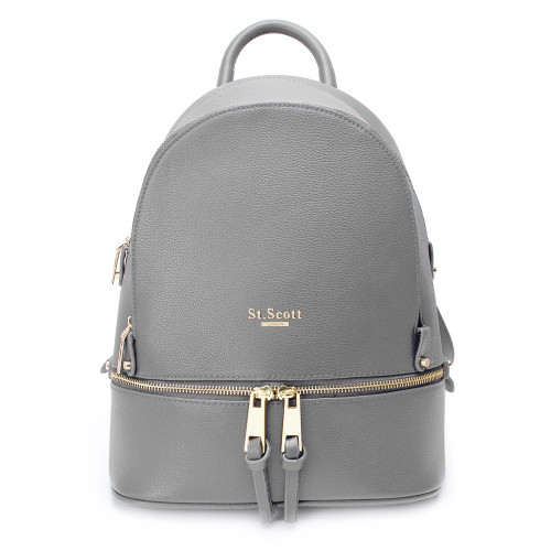 [SAINT SCOTT] Carson Backpack  - Cream Gray