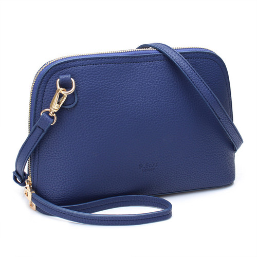 [SAINT SCOTT]SALOME TOTE BAG - Navy