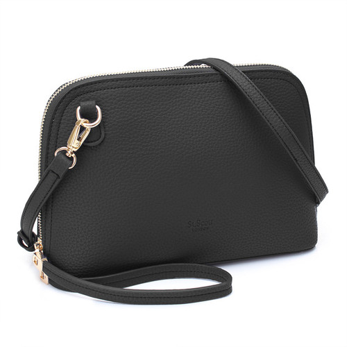 [SAINT SCOTT]SALOME TOTE BAG - Black