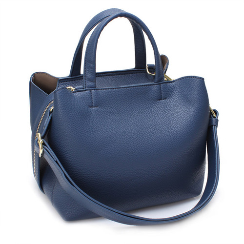[SAINT SCOTT]SIA TOTE BAG - Navy