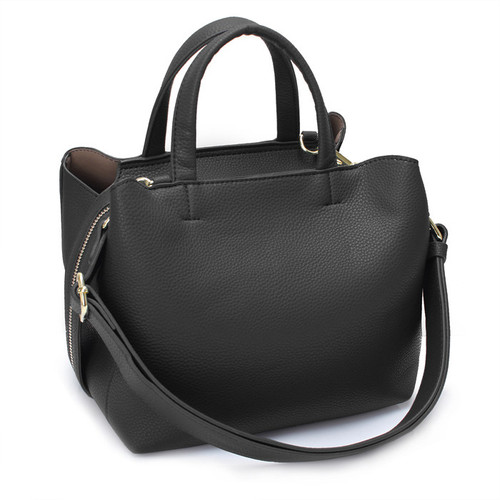 [SAINT SCOTT]SIA TOTE BAG - Black