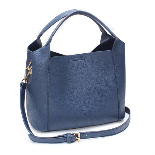 [SAINT SCOTT]FRENCH TOTE BAG - Navy