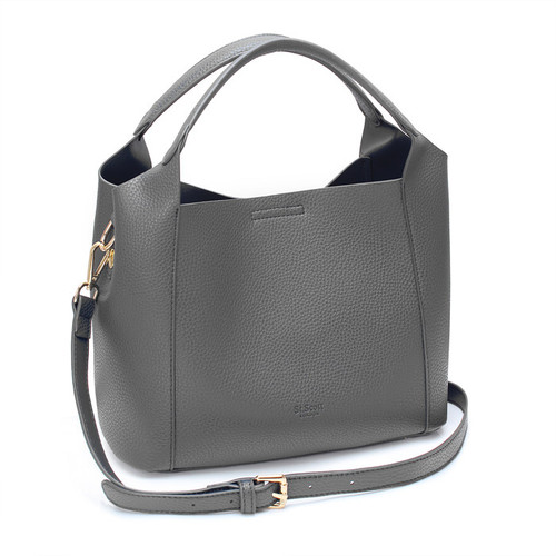 [SAINT SCOTT]FRENCH TOTE BAG - Grey